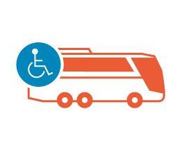 Behinderten- & Rollstuhlgerechter Bus - Busflotte mieten