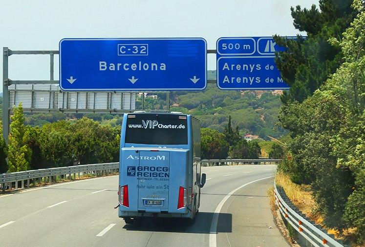 Mietbus Spanien - Lloret de Mar mit unlimited Reisen