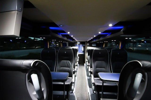 VIP Service - Bus Innenausstattung Sitze